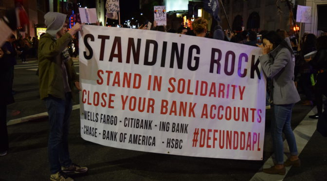 #NoDAPL Protest Photos, Los Angeles 2/22/17