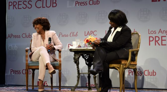 A Conversation With Maxine Waters @ Barnsdall 4/13/17
